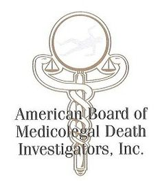American Board of Medicolegal Death Investigators, Inc. Logo
