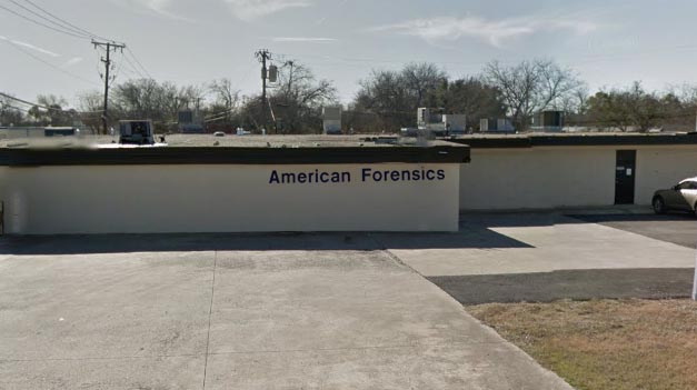 American Forensics Building Front Image