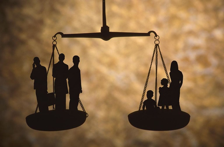 Legal Scales Family and Attorneys Image